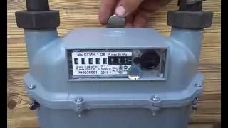 Как остановить счетчик газа СГМН-1, неодимовым магнитом. Тел. 8-968-702-25-52(, 2014-07-08T14:29:21.000Z)
