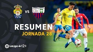 Resumen de UD Las Palmas vs Extremadura UD (1-1)