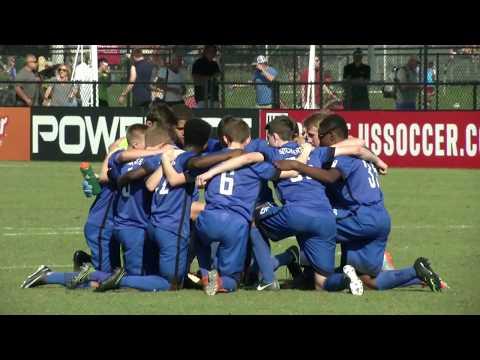 DA Winter Showcase: U-16/17 FC Golden State vs. Sockers FC: Highlights - Dec. 2, 2017