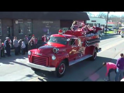 Bridgeport, Al 2015 27th Annual Christmas Parade featuring North Jackson High School Band