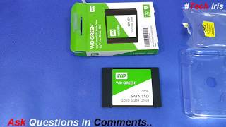 WD Green 120GB Solid State Drive (WDS120G2G0A) Unboxing