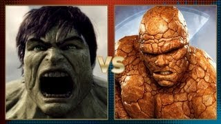 Hulk vs Thing: Fanboy Faceoff
