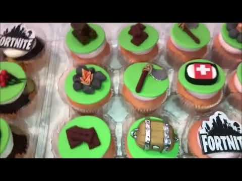 Fortnite Cupcake Toppers Rings Party Flavors