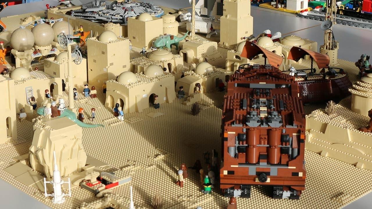 star 387_LEGO MOC: Star Wars Tatooine Layout - YouTube