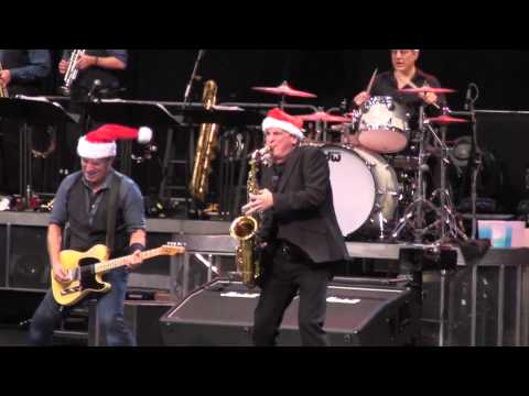 """Bruce Springsteen """"Santa Claus is Coming to Town"""" Glendale, AZ 12-6-12"""