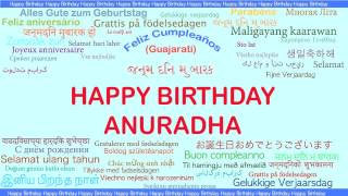 Anuradha   Languages Idiomas - Happy Birthday