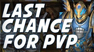 WoW PvP Is Dead? New PvP System For Next Expansion
