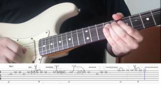 Pink Floyd - Poles Apart Solo & Lesson | Lace Sensor Gold | Fender Am. Traditional