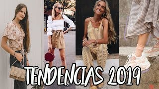 TENDENCIAS PRIMAVERA-VERANO 2019