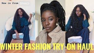 Winter Fashion Try-On Haul ft Urban Outfitters, Mango, NastyGal, Fashionnova