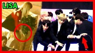 How Kpop Idols Help Staff