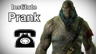 Virgil Calls Institutes for His Serum - Fallout 4 Prank Call