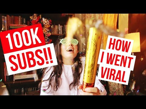 How I Went VIRAL & Grew To 100K SUBS!
