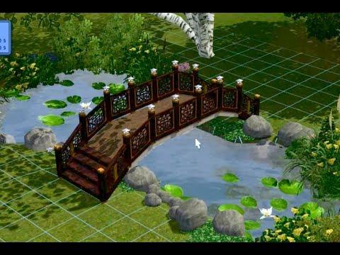 Как сделать мост в симс 3
