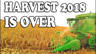 Harvest 2018 Is OVER - Iowa Corn and Soybean Harvest