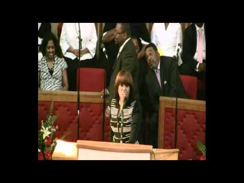 ZAT Bishop Parker & First Lady, daughter speaking at their 26th Appreciation Day On July 18, 2010