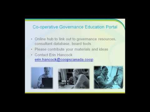 New thinking on co operative governance: International Co-op Governance Symposium