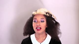Shea Moisture Jamaican Black Castor Oil Holiday Hairstyle Tutorial