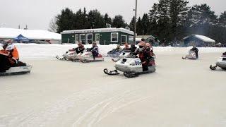 STV 2017 OSOR Vintage Ice Oval Racing