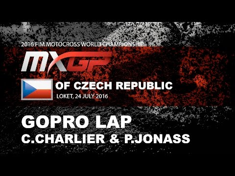 GoPro Track Preview MXGP of Czech Republic with Jonass & Charlier 2016