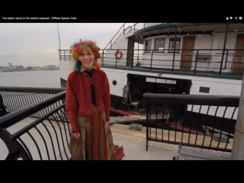 These people live on the oldest vessel on the eastern seaboard - OffBeat Spaces Video