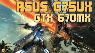 Metal Gear Revengeance Asus G75VX (GTX 670MX) Gameplay 2014