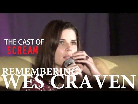 Remembering Wes Craven  Neve Campbell, Skeet Ulrich & Matthew Lillard  Spooky Empire 2015