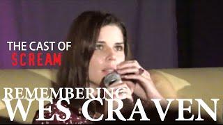 Remembering Wes Craven | Neve Campbell, Skeet Ulrich & Matthew Lillard | Spooky Empire 2015