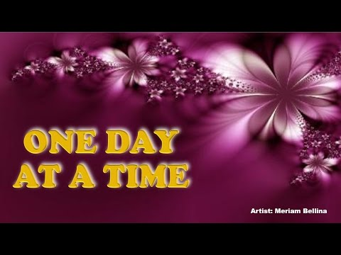 ONE DAY AT A TIME - Meriam Bellina (with Lyrics)
