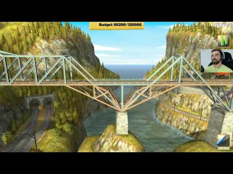Bridge Constructor Trains #1 - Los Traingles /25.05.16 #4