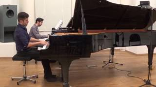 Or Yissachar plays Schumann Piano Concerto in a minor: I. Allegro affettuoso