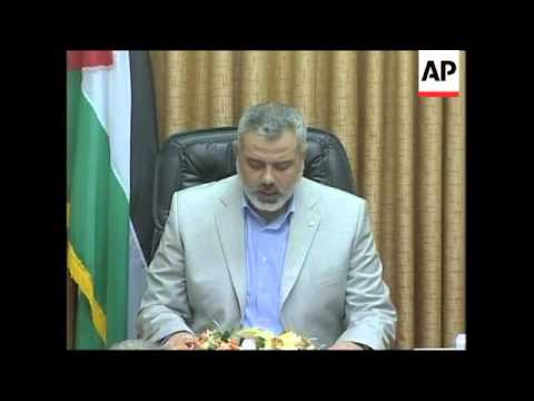 "PM says Abbas decision to fire Hamas government ""hasty"""