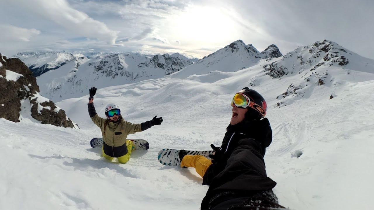 Silvretta Montafon - Snowboarding 2019
