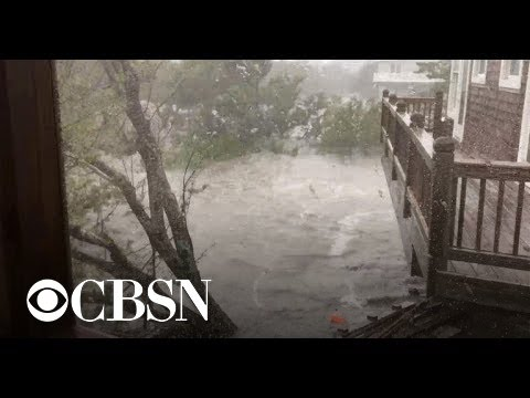 Hurricane Dorian traps hundreds on an island on North Carolina's coast