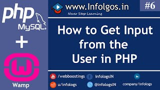 PHP - Get Input from User in PHP - Tutorial 6