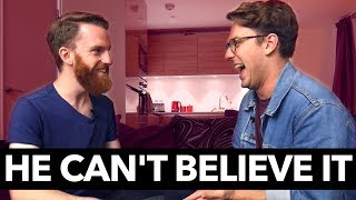 Jack Howard's reaction to magic is BRILLIANT! | Steven Bridges