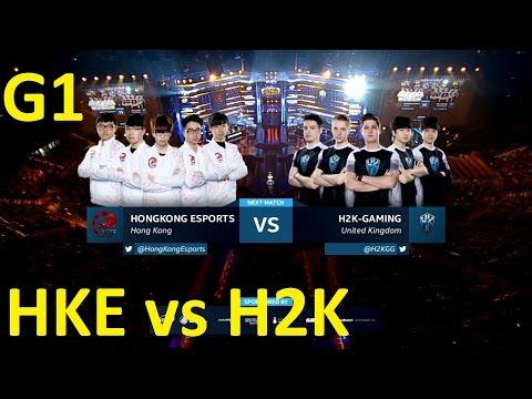HKE vs H2K Game 1 Highlights - HONG KONG ESPORTS vs. H2K - Group A Decider - IEM Katowice 2017