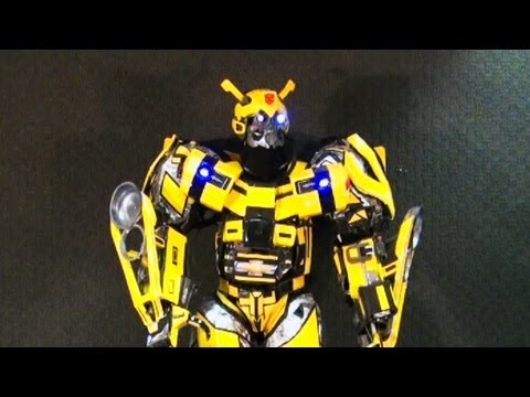 Epic Real Life BumbleBee Transformer Costume