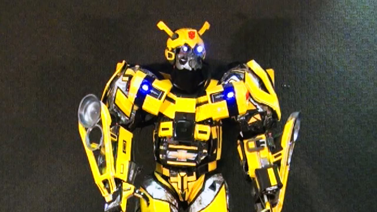 Bumble Bee Transformer Costume Epic Real Life BumbleB...