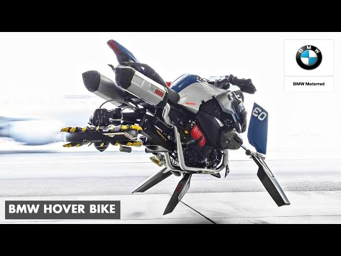 BMW Flying Motorcycle Concept | Hover Bike