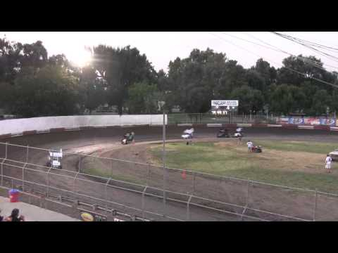 Dahne Lynn McKay 8/3/12 Restricted Heat Race Plaza Park Raceway Visalia