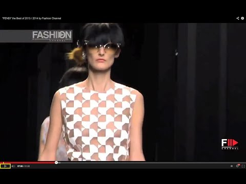 """FENDI"" designer Karl Lagerfeld the Best of 2013 / 2014 by Fashion Channel"