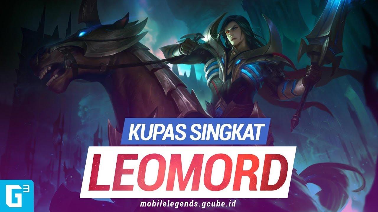 guide leomord mobile legends ksatria azab kubur gcube id