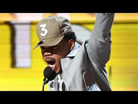 Chance The Rapper Wins Best New Artist At 2017 Grammy Awards