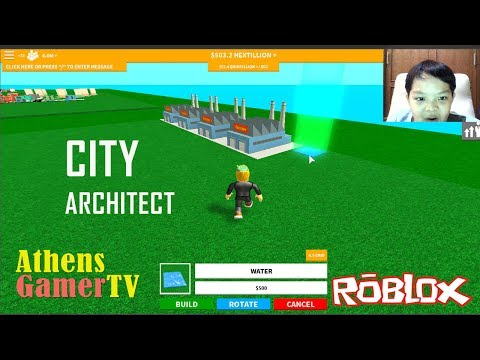 Roblox - City Arcitect - AthensGamerTV by Athens Thanakrit