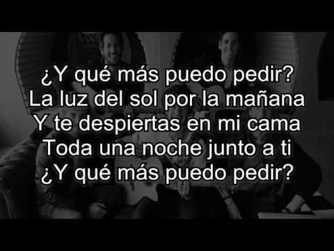 Dvicio -  Qué Mas Puedo Pedir con letra/lyric