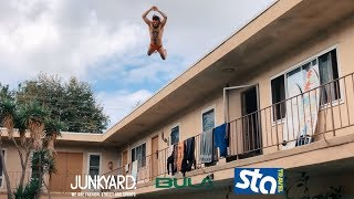 ROOFTOP POOL JUMPS AND PIER FLIPS | BEN&RAS FOREVER VACATION ep2