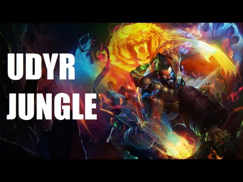 League of Legends - Spirit Guard Udyr - Full Game Commentary