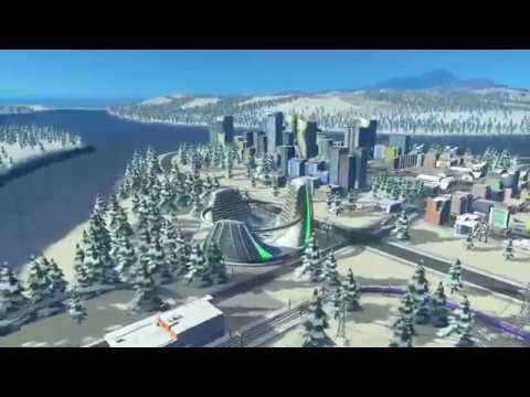Cities: Skylines - Strife in a Northern Town #4/2 (PS4 Pro)