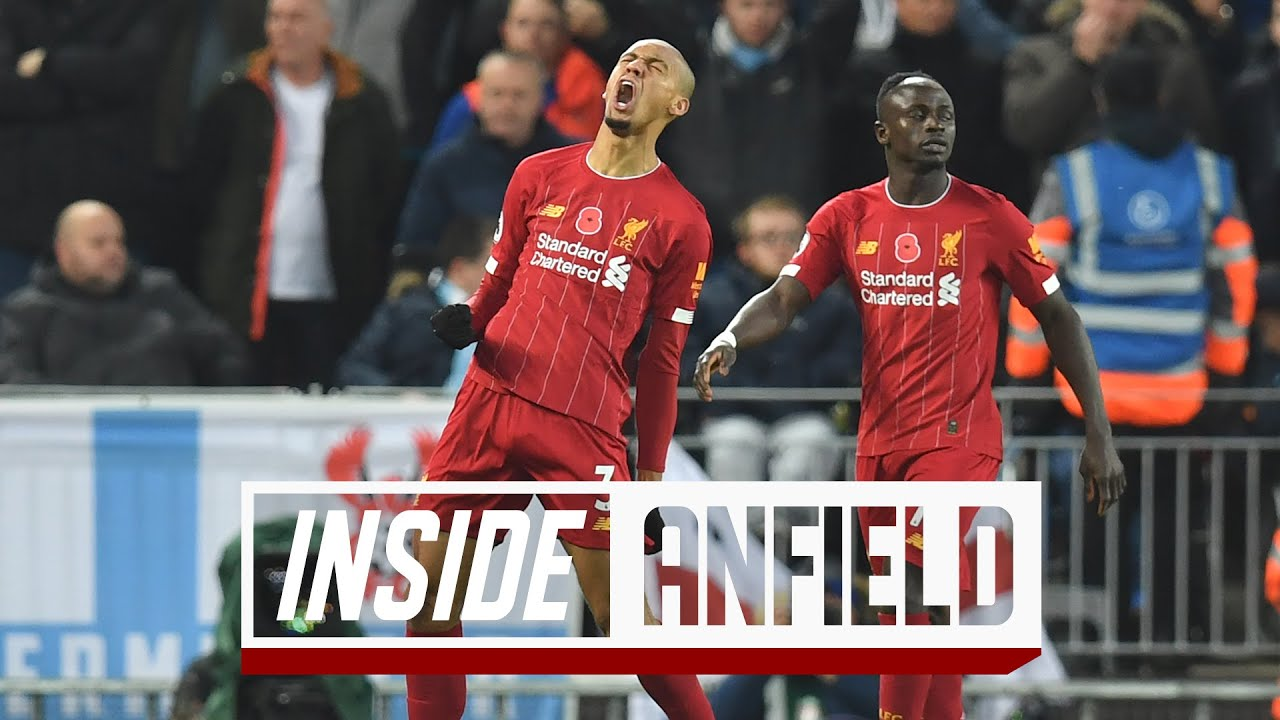 Inside Anfield Liverpool   Man City The Unseen Footage Youtube